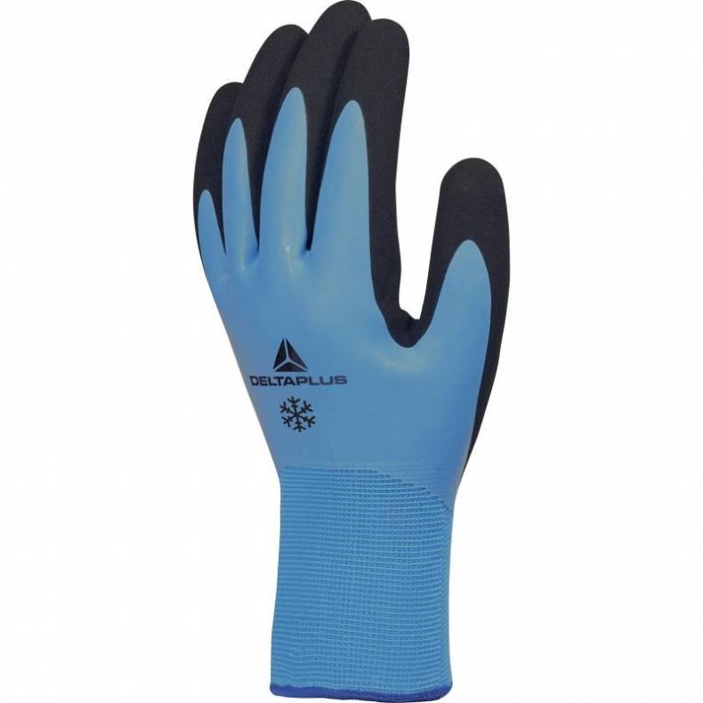 -bezešvé pletené nepromokavé zimní zateplené rukavice z akrylu   polyamidu ee909d0b97