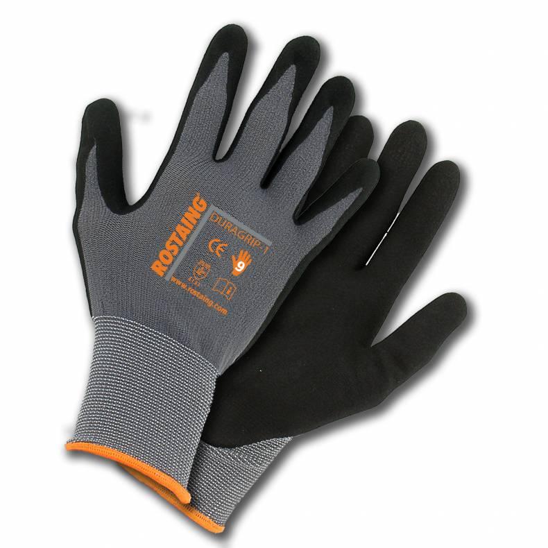 -komfortní bezešvé pletené polyamidové rukavice povrstvené vrstvou extrémně  odolného pěnového nitrilu s pískovanou strukturou pro lepší úchop 15cc2c9f74